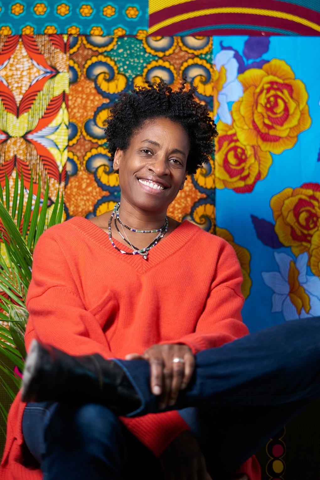"""Jacqueline Woodson, author of """"Red at the Bone,"""" will speak at Seattle Public Library's Central Library on Sept. 24. (Tiffany A. Bloomfield)"""