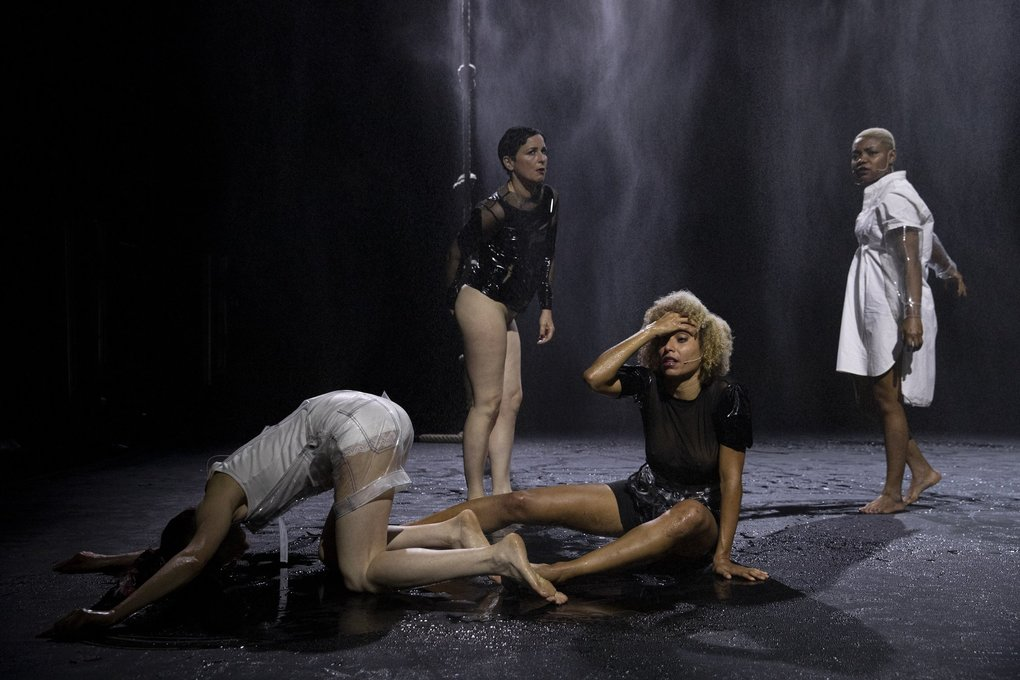 """Dancer/choreographer Ligia Lewis brings """"Water Will (in Melody),"""" a gothic tale in a cavernous landscape, to On the Boards. (Maria Baranova)"""