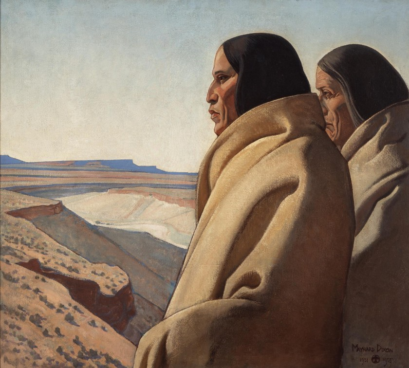 """""""Men of the Red Earth,"""" 1931-32 by Maynard Dixon"""