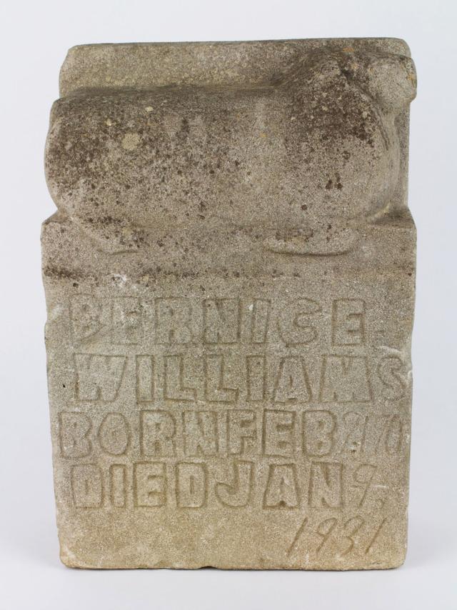Edmondson tombstone