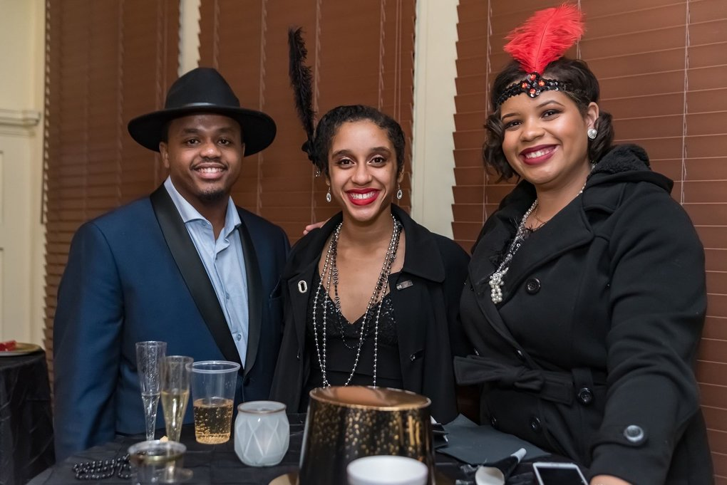 At the Fitzgerald Museum's New Year's Eve 2020 party, revelers rang in the new '20s in 1920s fashion. The museum in Alabama makes a perfect 2020 pilgrimage destination. (Courtesy of the Fitzgerald Museum)
