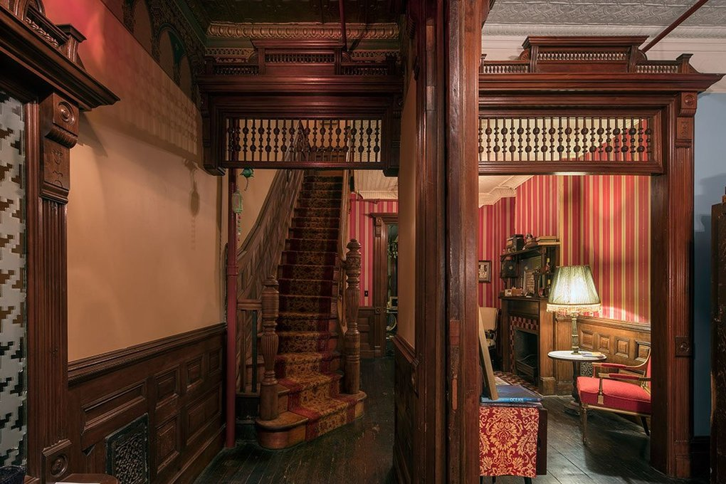 The Harlem Flophouse is an old Victorian house that was converted to a hotel in the early 20th century to house Harlem's growing population during the Great Migration. (Courtesy of Harlem Flophouse)