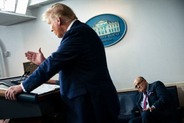 President Trump's personal lawyer Rudolph W. Giuliani has long waged a campaign to attack former Vice President Joseph R. Biden Jr.