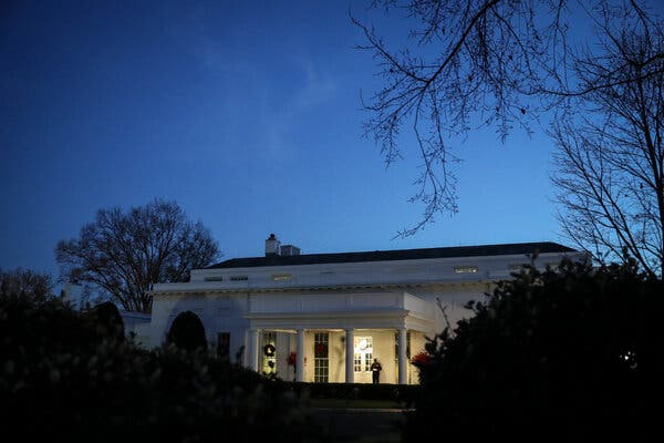 The West Wing of the White House on Friday.