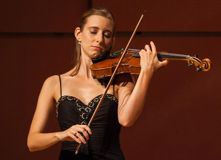 "Baroque violinist and historical performance specialist Chloe Fedor curated ""Beauty in Chaos, Hope in Order."""