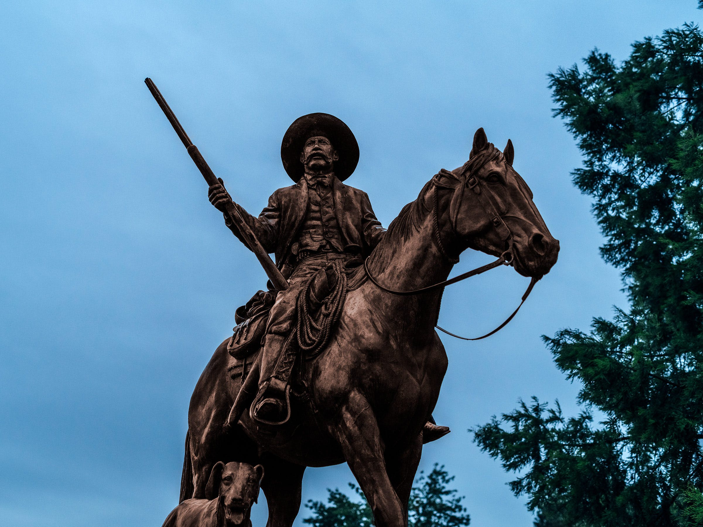 Bass Reeves statue